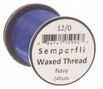 Classic Waxed Thread 12/0 240 Yards - Navy